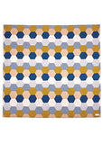 Honey Merino Bassinet Blanket | Shibori
