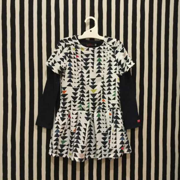 Dress with L/S Top | Triangle Print - SALE