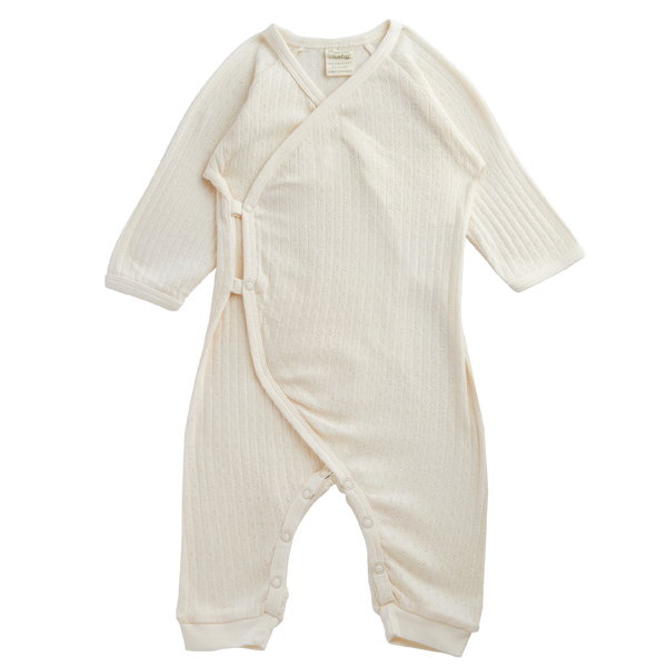 Kimono Stretch & Grow | Pointelle Natural