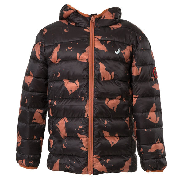 Eco Puffer Jacket | Wolf