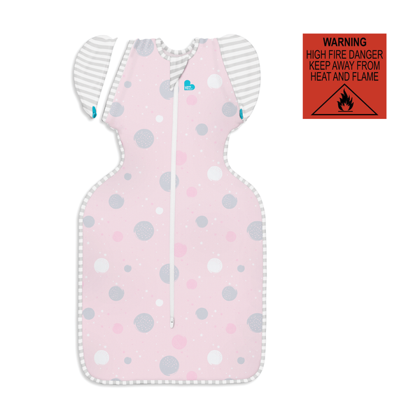 Swaddle Up Transition Bag Lite (0.2TOG) | Pink
