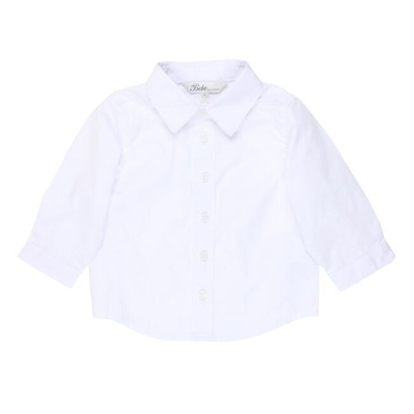 Archie L/S Shirt | White