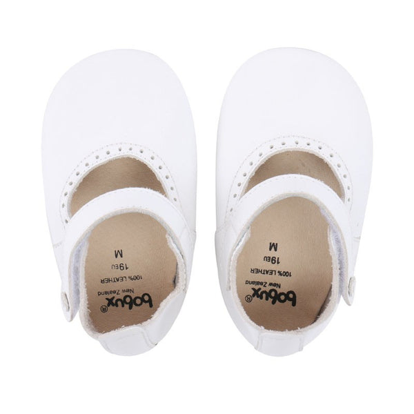 Soft Sole White Mary Jane
