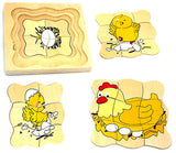 Chicken Life Cycle Layer Puzzle