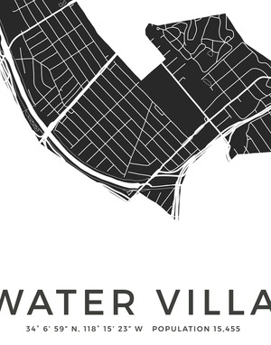 Atwater Village map poster