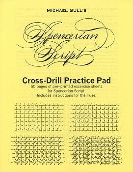 Spencerian Cross Drill Practice Pad