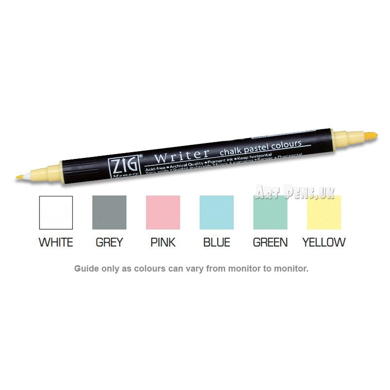 ZIG Writer - Chalk Pastels