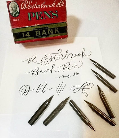 Esterbrook Bank Pen No. 14 Vintage Nibs