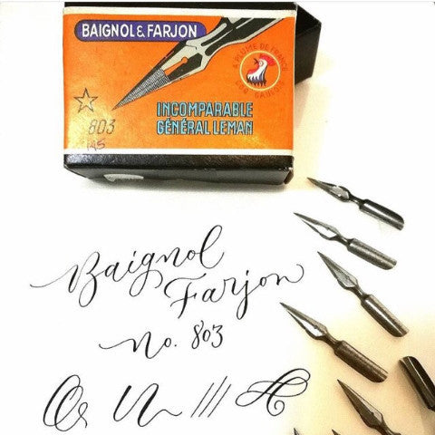 Baignol & Farjon Incomparable 803 Vintage Nib