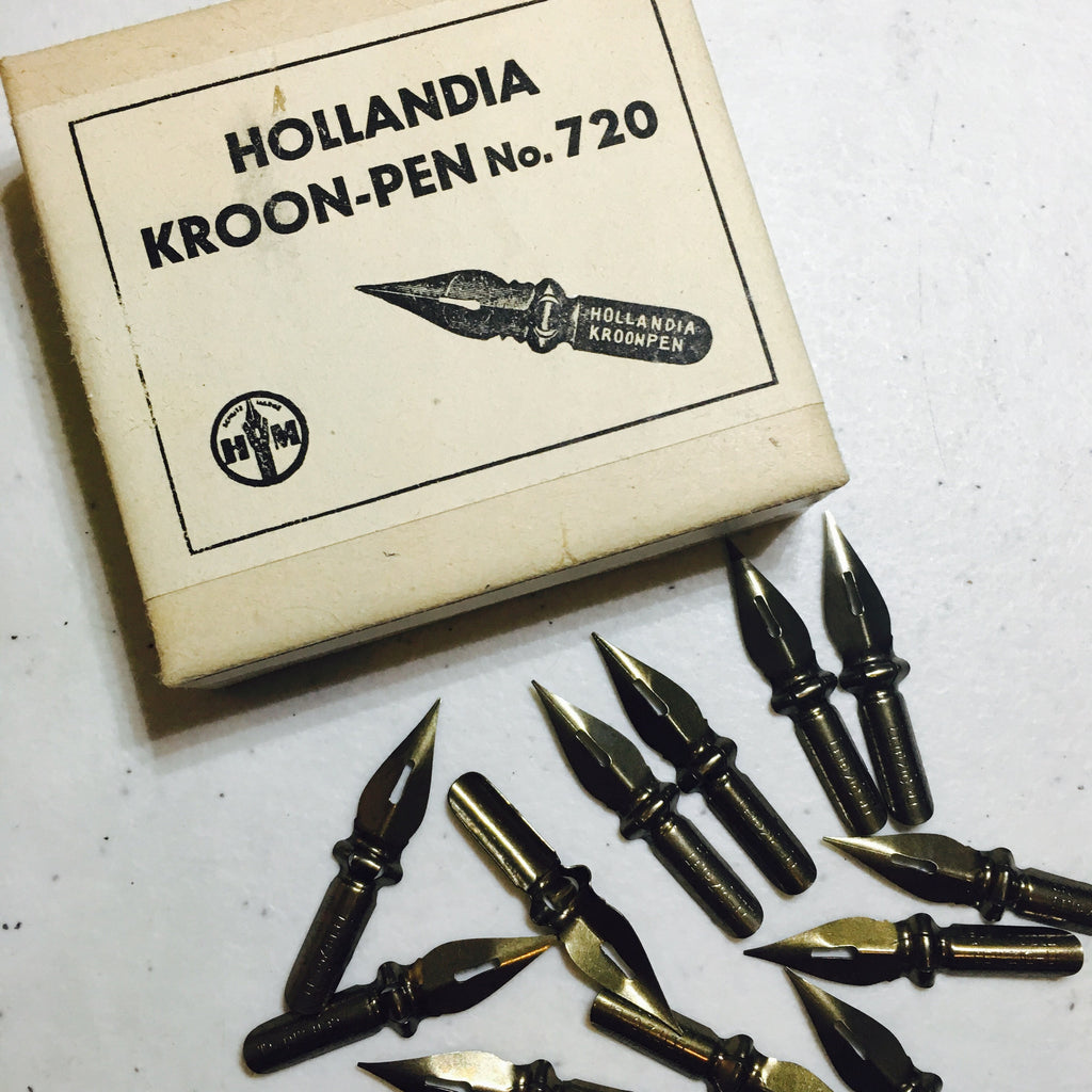 Hollandia Kroon-Pen 720 Vintage Nibs