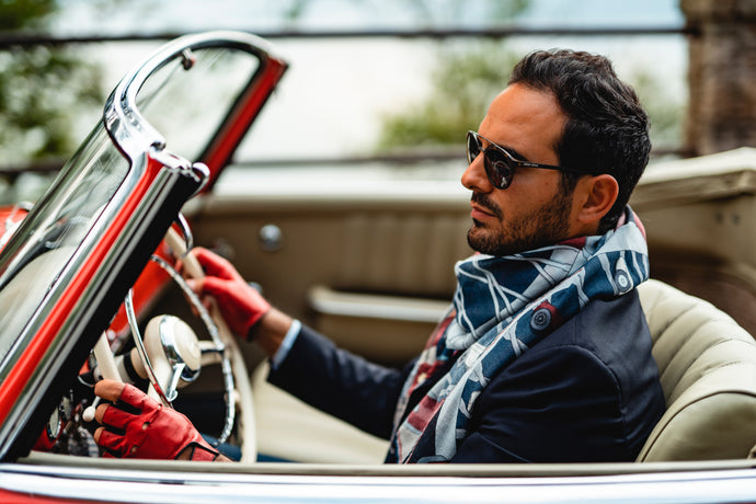 Gentleman Style Tips: how to choose and wear a scarf