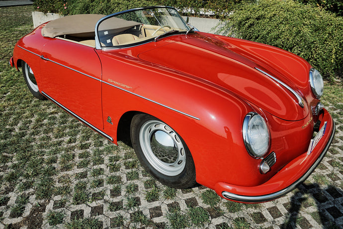 INSIDE THE HISTORY OF THE PORSCHE 356 SPEEDSTER