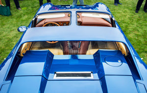 Color Inspirations: from Cobra to Bugatti, all the legendary cars dressed in blue