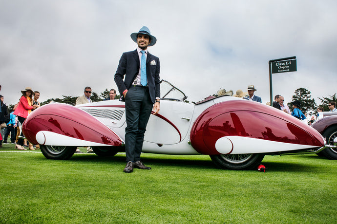 2017 Pebble Beach Concours d'Elegance: The Outlierman is style partner once again