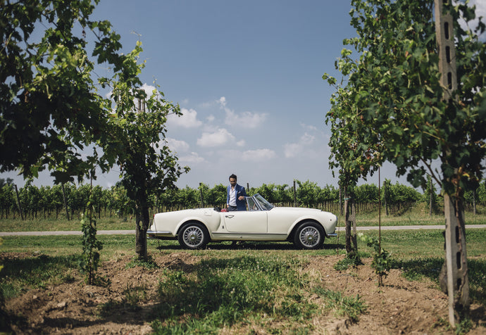 The Gentleman Driver's Diary: something out of a movie, the Aurelia and I