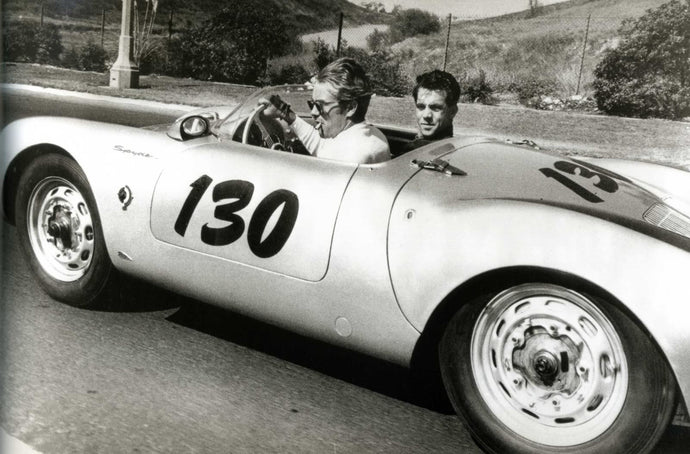 James Dean and the Porsche 550 Spyder: together forever