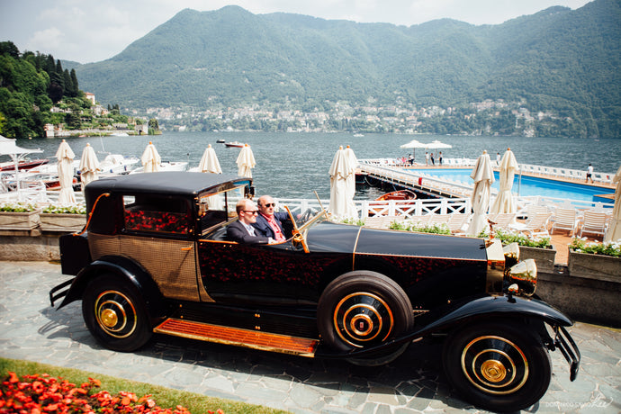 The Outlierman goes to... Villa D'Este e Lago di Como