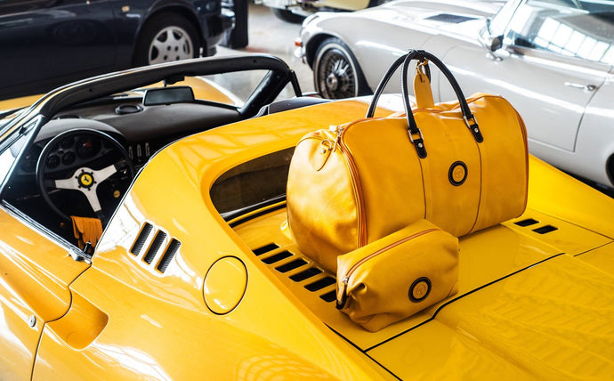 From the origins of Ferrari to style details: Yellow is a state of mind