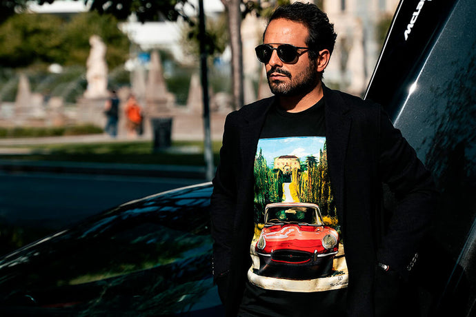 E-Type and 356: protagonists of a state-of-the-art t-shirt collection