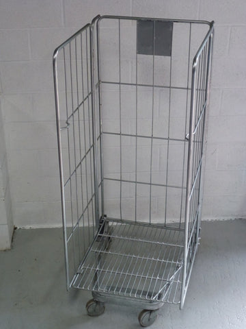 3 sided rod cage no shelf - Refurbished
