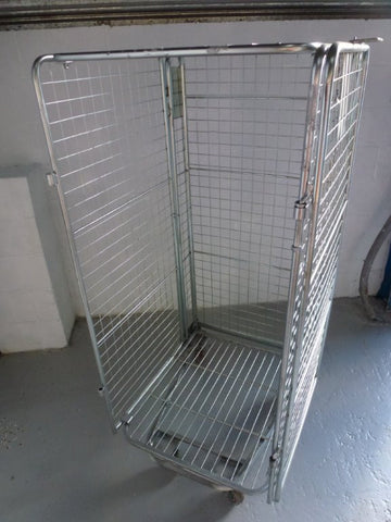 4 sided full security  cage no shelf - Refurbished