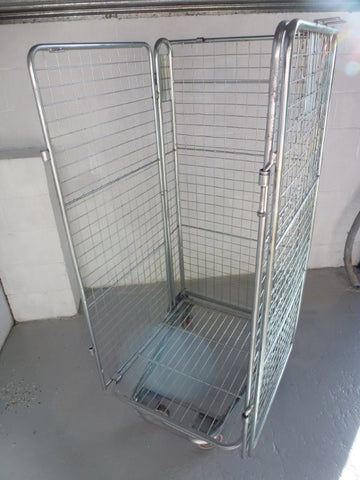 4 sided mesh cage no shelf - Refurbished