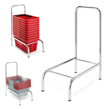 High Back Basket Stacker - Static
