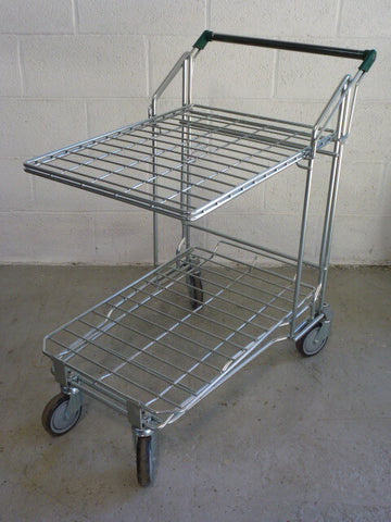 Merchandising trolley - flat top