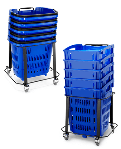 Rolling Basket Stackers
