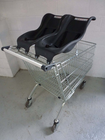 212 litre EL Wanzl Double Baby Shopper - Refurbished