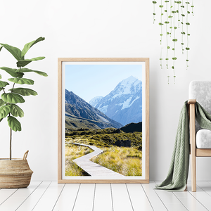 New Zealand Travel Photography / New Zealand Print / Mount Cook