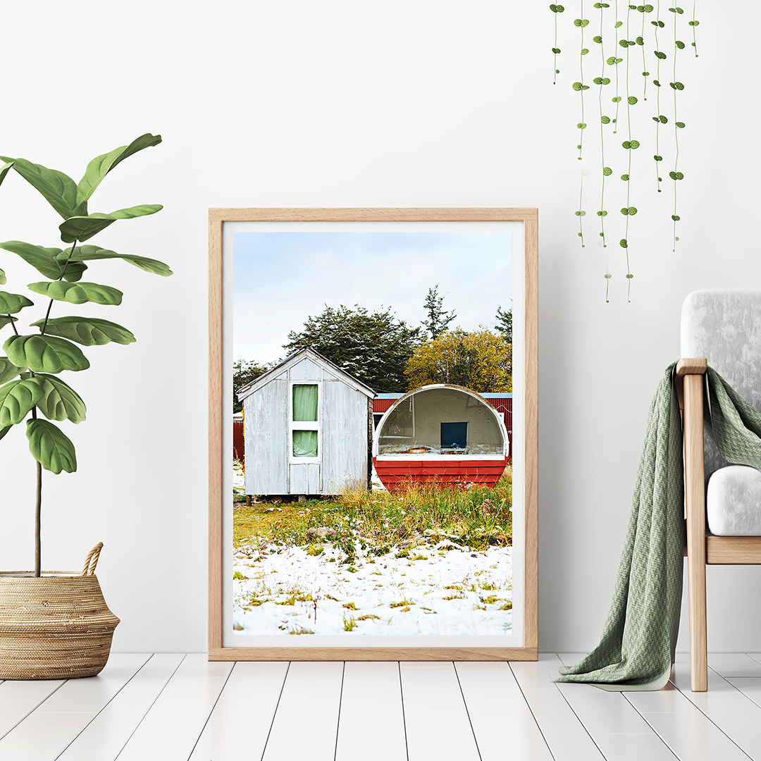 Tiny Home NZ / New Zealand Photography / New Zealand Snow