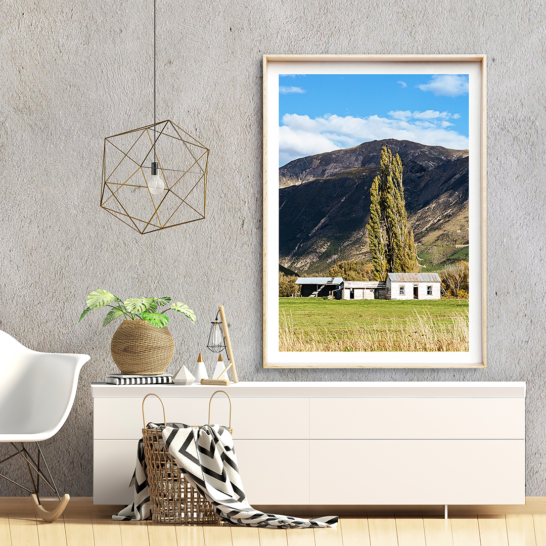 New Zealand Print / New Zealand Photography / New Zealand South Island