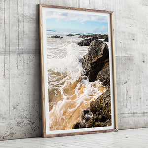 Beach Photographic Print / Coastal Home / Beach Photography