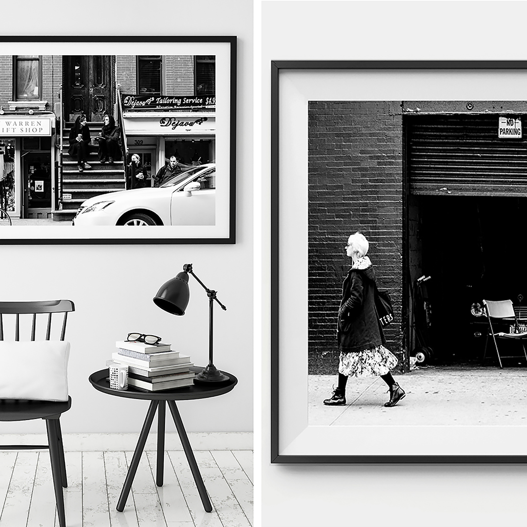 New York Photography / Black and White Print / NYC / Manhattan