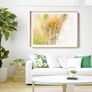 Beach Art Print / Coastal Art / Framed Photographic Beach Print