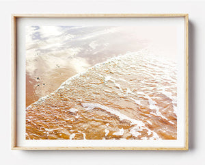 Beach Print / Coastal Art Home Interior / Framed Photographic Print