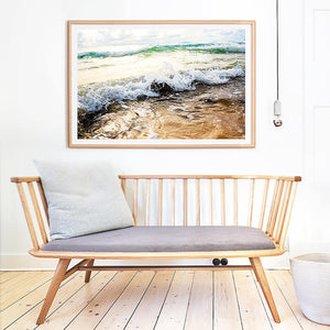 Beach Photography Print / Coastal Interior / Ocean Photography