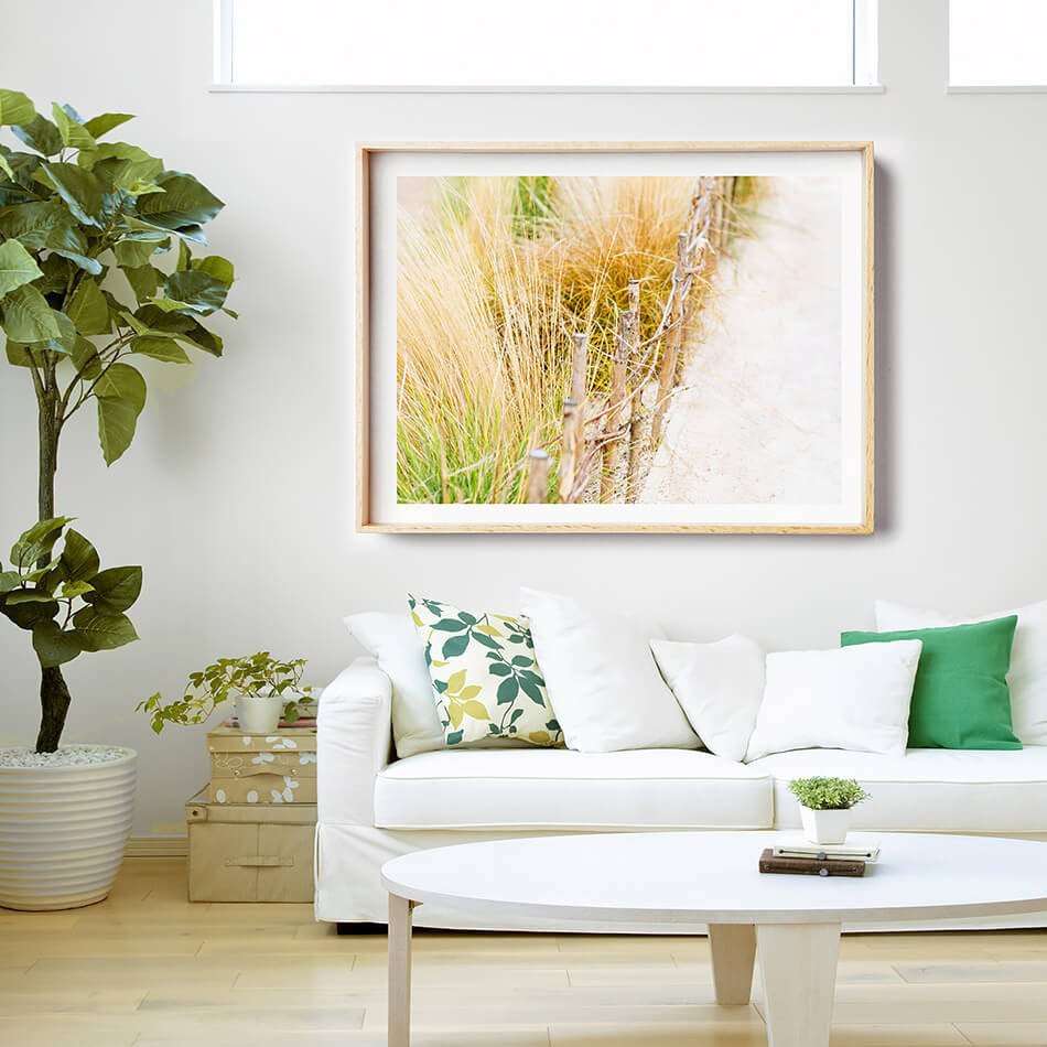 Beach Print / Beach Photography / Coastal Interior Art