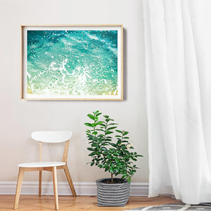 Beach Print / Framed Photographic Prints Brisbane/ Coastal Interior / Beach Art