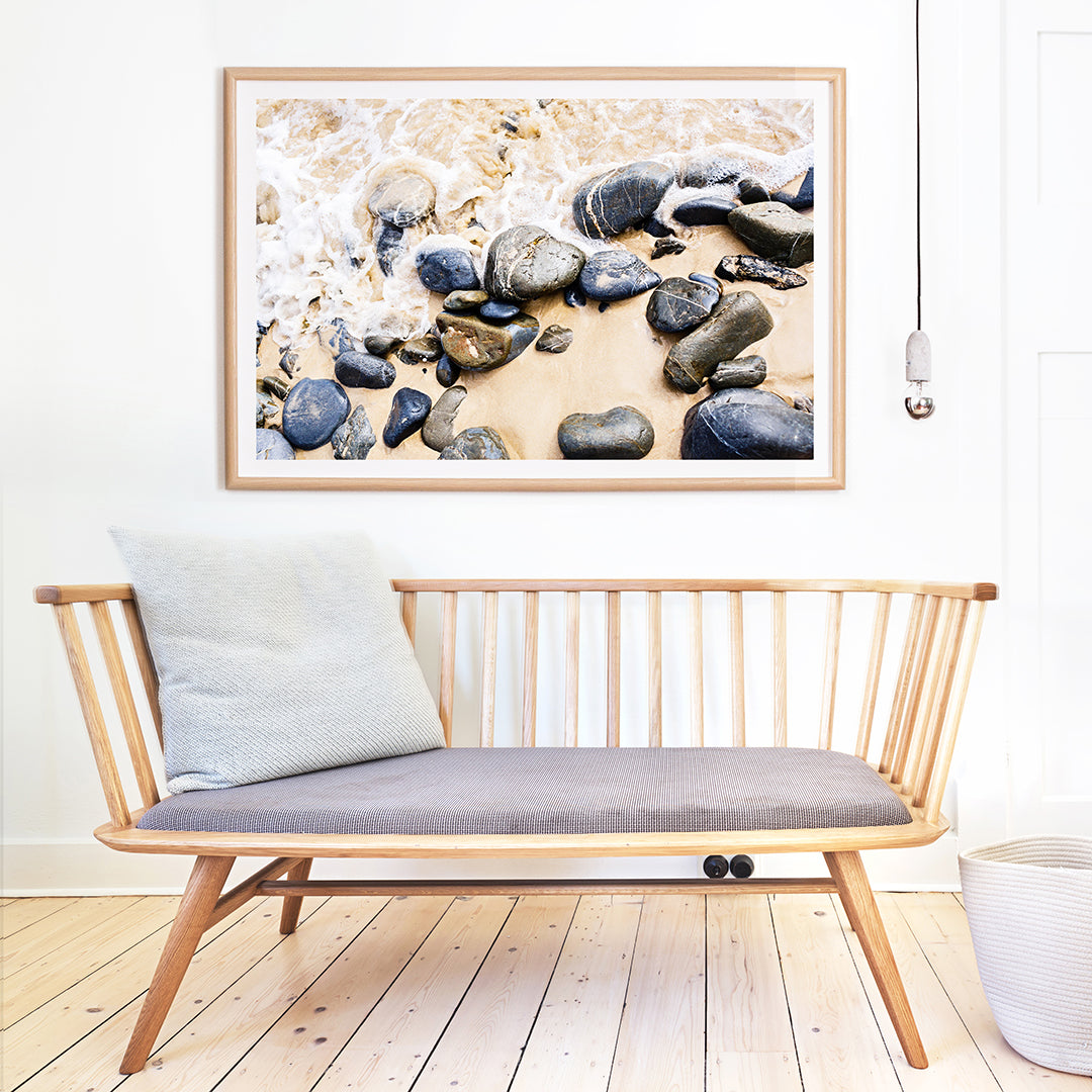 Photographic prints for a coastal home