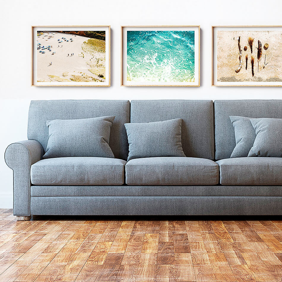 Beach Art Print / Photo Print / Home Interior Design / Coastal Home Art