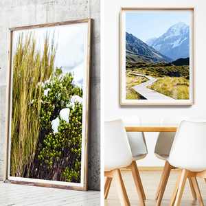 Mountain Print / New Zealand Photography / Coastal Print