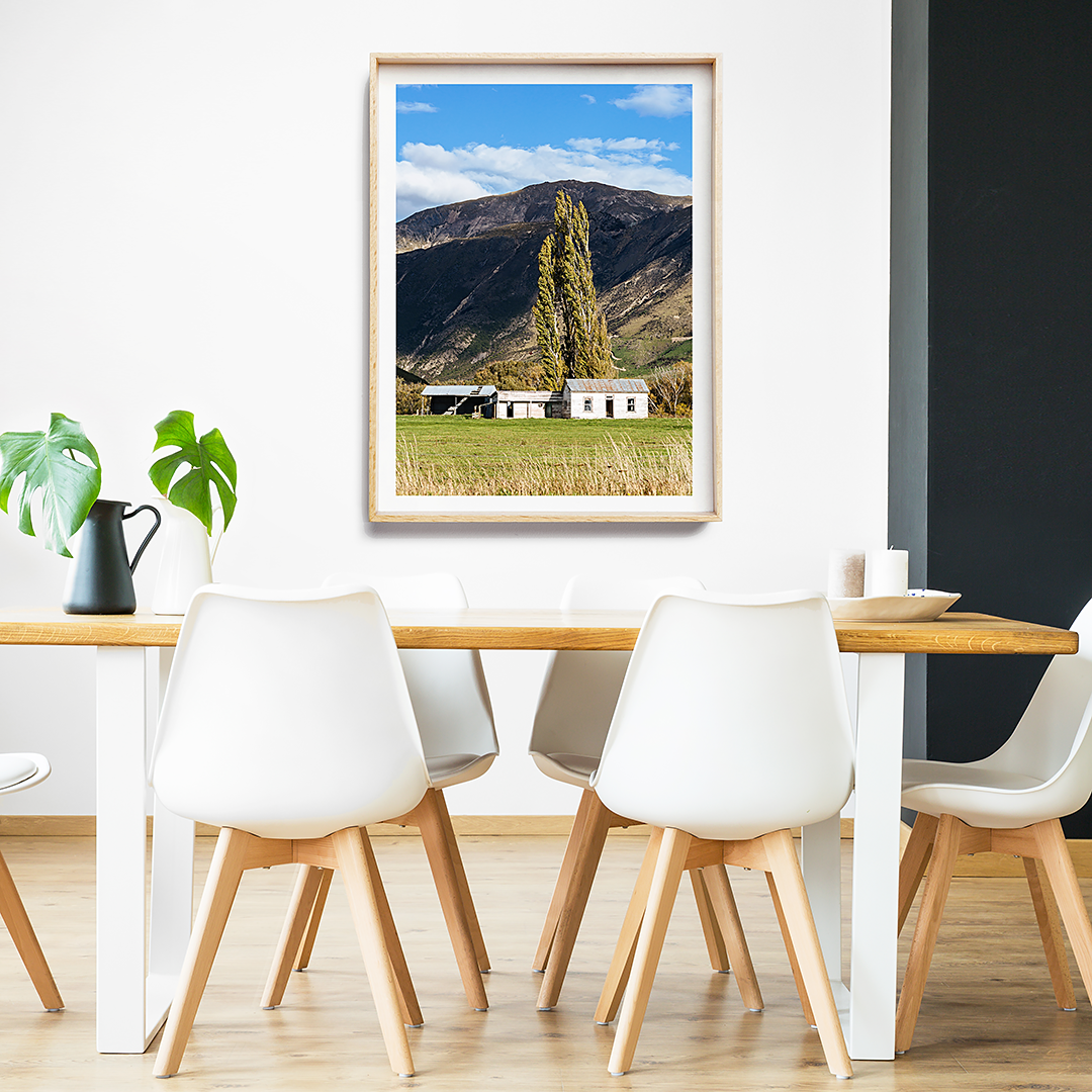 new zealand photography / new zealand print / mountains print