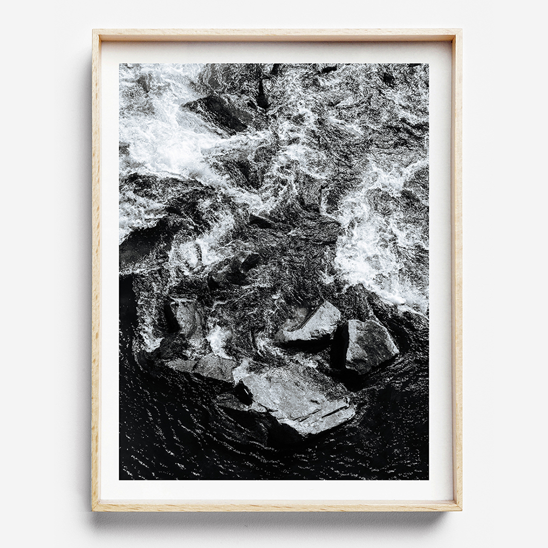 Beach Print / Black and white print / Coastal home / Black and white print