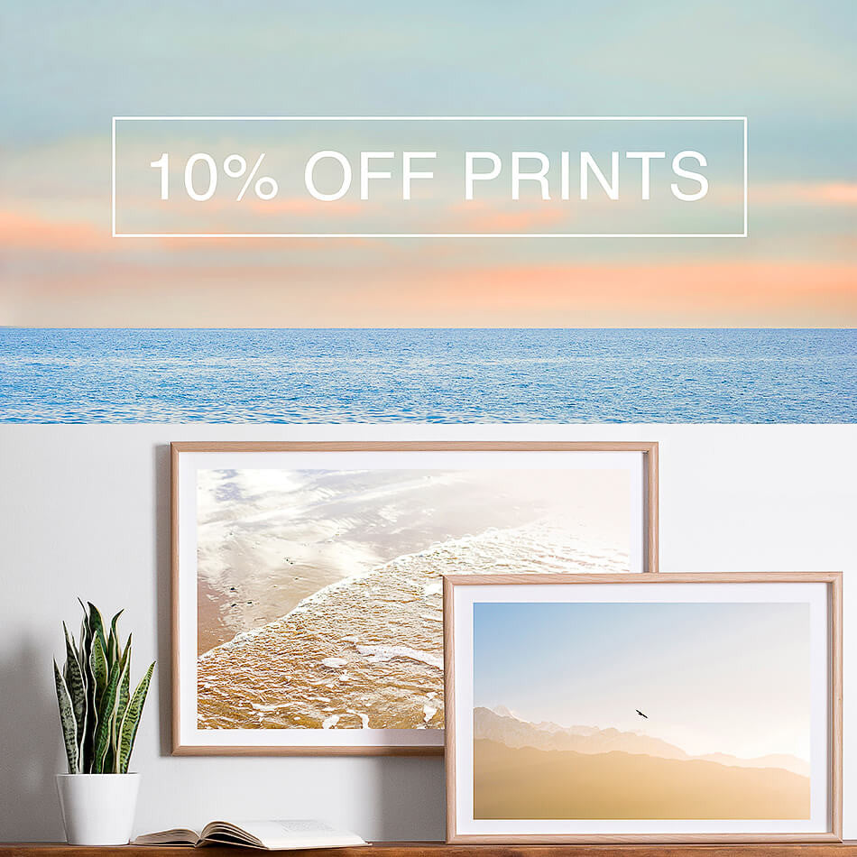 Framed Photographic Prints / Art for Walls / 10% Off