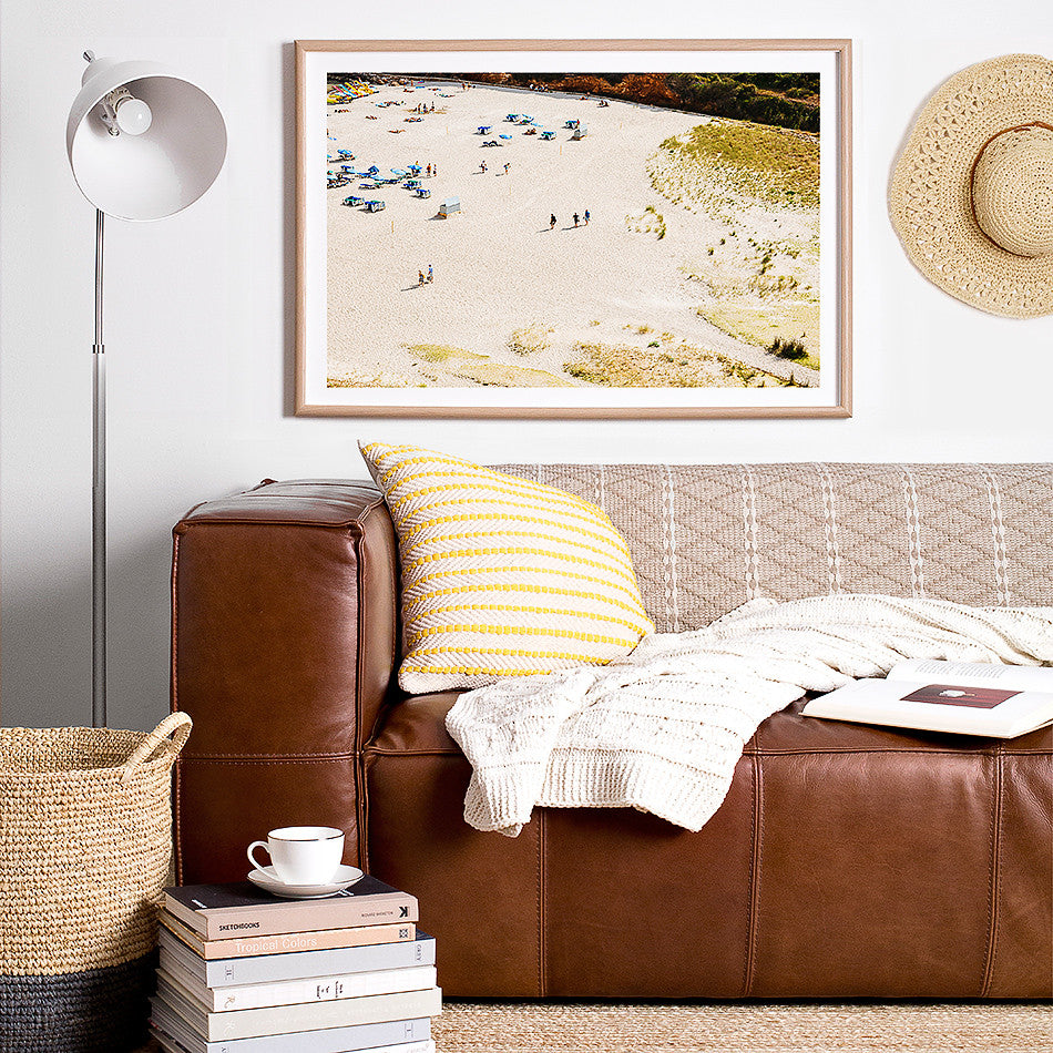 Photographic wall art print / beach decor / Australia / Brisbane