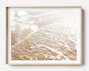 Framed photographic prints for the home / Beach Print / Coastal Interior