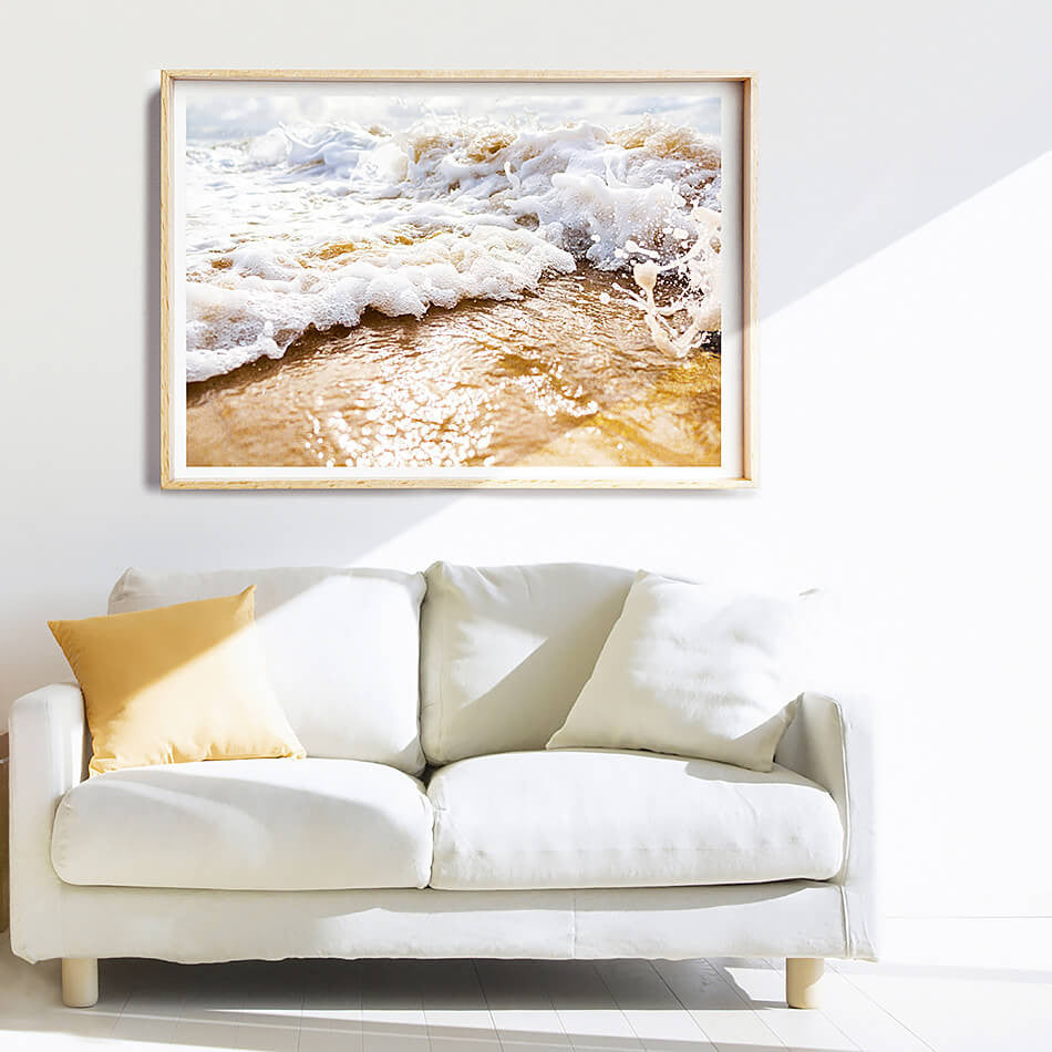 Beach Photographic Print / Beach Print / Coastal Interior Artwork