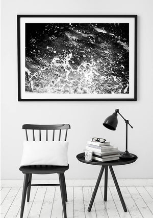 Beach Photography / Black and White Interior / Beach Art